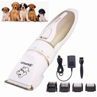 Listrik Rendah Kebisingan Hewan Anjing Kucing PET Dandan Penghias Pencukur Alat Pemotong Pisau Cukur Rambut