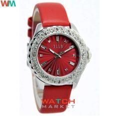 Elle EL20341S06C - Strap karet Merah- Jam Tangan Wanita