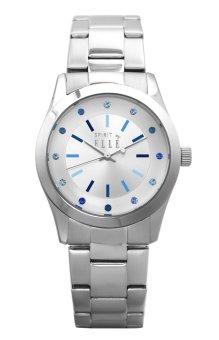 Elle Spirit ES20036B01X - Jam Tangan Wanita - Silver Stainless Bracelet Women Watches