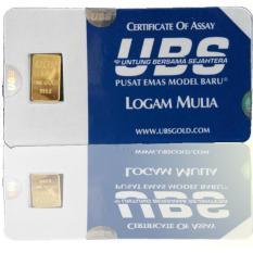 Emas Batangan UBS 1 Gram Fine Gold 999.9% - Bersegel Hologram