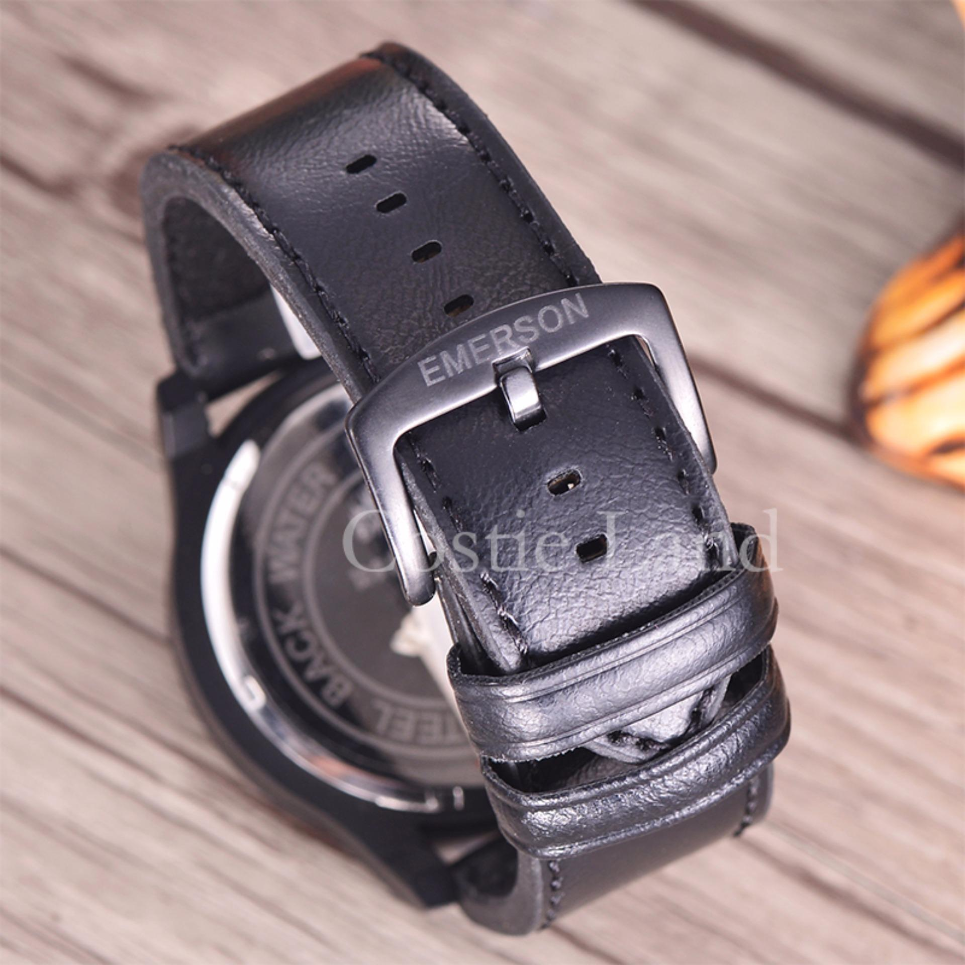 Aksesoris Fashion Swiss Army Daftar Harga Aksesoris Fashion Swiss Source · Emerson Jam Tangan Pria Body Black Black Orange Dial EM