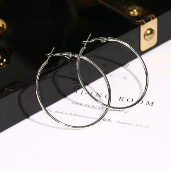 Eropa dan Amerika ayat yang sama dibesar-besarkan besar cincin telinga anting-anting