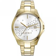 Esprit Cecilia Jam Tangan Wanita ES108432001 - Stainless Steel - Gold