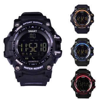 EX16 Xwatch Bluetooth Smart Watch Professional Waterproof IP67Podometer Health Fitness Tracker Sports Smartwatch for Phone - intl