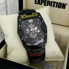 Expedition E6733M - Jam Tangan Pria - Stainlesteel Strap - Chrono