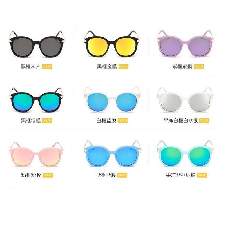5c6c23aaeff Fashion Female Polarized Sunglasses Colorful Reflective Coating Lens Eyewear  Sun Glasses (Pink Frame Pink Lenses ...