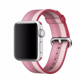 Harga Fashion Nylon Watch Woven Band Classic Sport Replacement Strap forApple watch band iwatch Series 1 Series 2 iwatch 38mm - intl