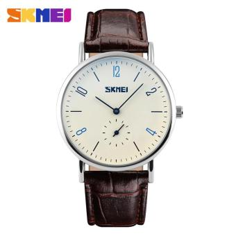 Detail Gambar Produk Fashion SKMEI 9120 klasik pecinta beberapa jam tangan quartz tahan air Automatic Date