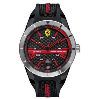 Ferrari Jam Tangan Pria Ferrari 0830253 Redrev T Rubber Watch