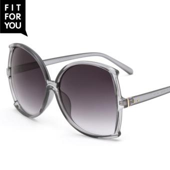 Belanja Terbaik Fitforyou2017 baru kupu-kupu berbentuk kebesaran kacamata hitam Harga Penawaran