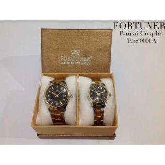 Fortuner - Jam Tangan Couple - Stainless Steel - FR0001