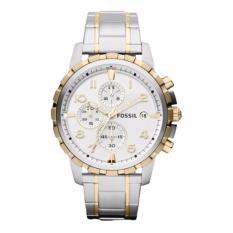 Fossil FS4795 - Jam Tangan Pria - Silver- Stainless Steel