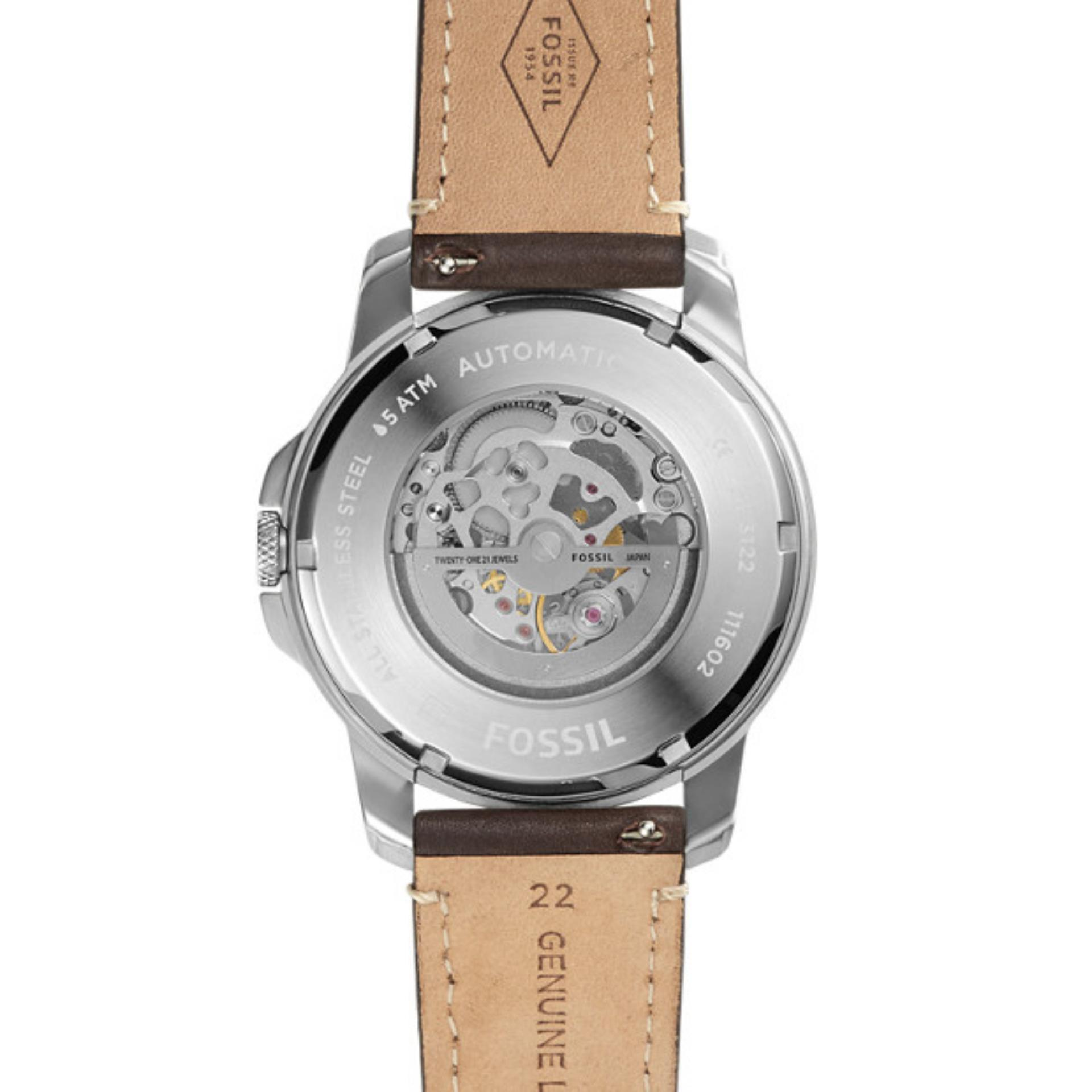 Fossil Ch2891 Jam Tangan Pria Leather Brown Daftar Update Harga Fs5075 Strap Silver Me3122 Grant Chronograph Dark Watch