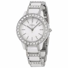 Fossil Jesse Ceramic White Watch, CE 1017