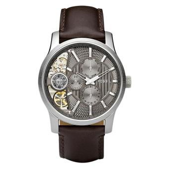 Fossil ME1098 Jam Tangan Pria Leather Strap - Brown