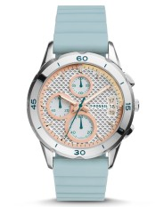 Fossil Modern Pursuit Chronograph Blue Silicone Watch, ES 4023