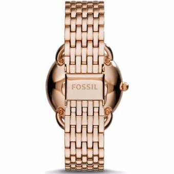 Fossil Tailor - Jam Tangan Wanita - Rosegold - Stainless Steel - ES3713 - 3