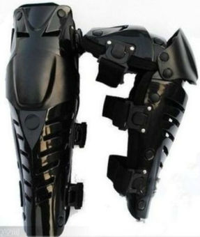 Fox - Decker Pelindung Lutut FOX Raptor / Knee Protector MotorTouring Tour Biker Bike - Hitam Full