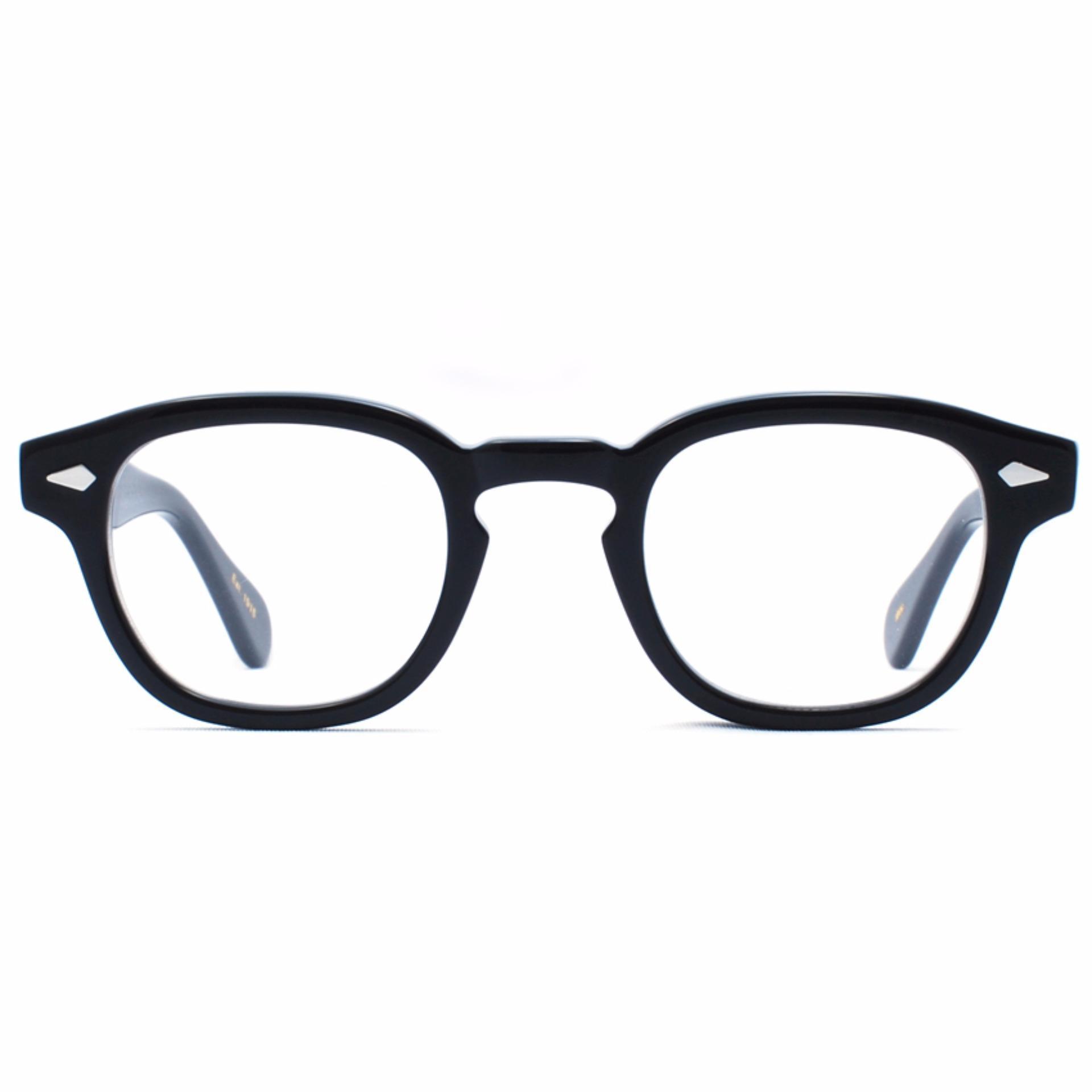 Frame Kacamata Pria Sporty Tr533 Hitam Bisa Dipasang Lensa