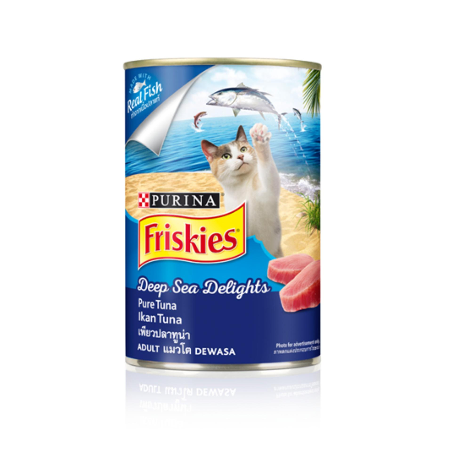 FRISKIES Adult Wet Deep Sea Delights (Can) 400 g