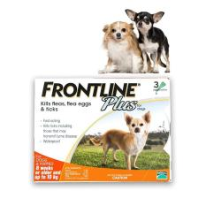 Frontline Plus S (Up To 10Kg) Box Isi 3 Tube