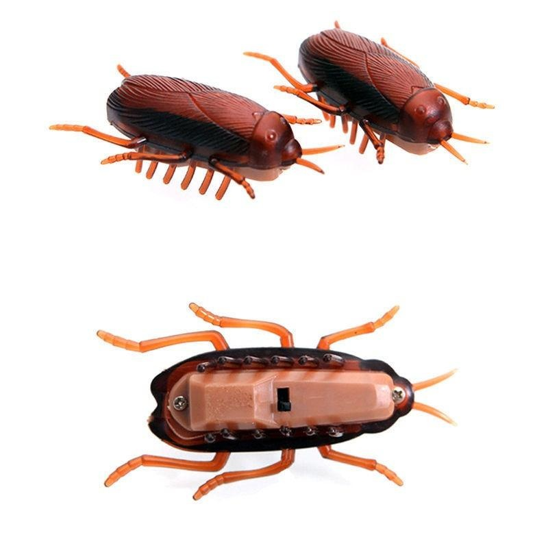Funny Simulation of Cockroaches Pet Cat Dog Interactive Training Play Toy - intl