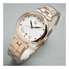 GC WATCH-jam tangan wanita casual dan fashion rantai ring diamond- stainless steel
