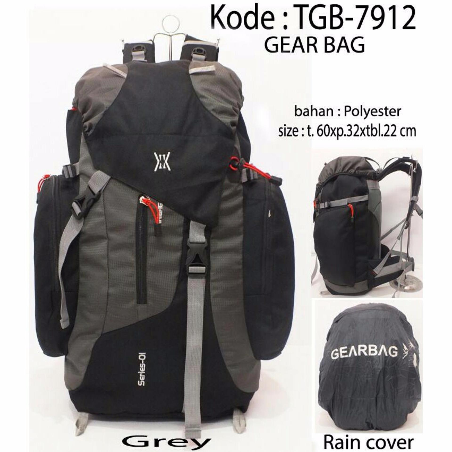 Gear Bag Tas Ransel Traveller and Camping 85 Liter - Original