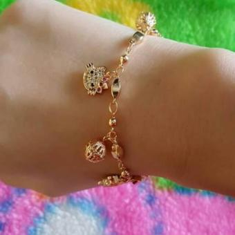 Gelang Kitty Cantik xuping gold silver