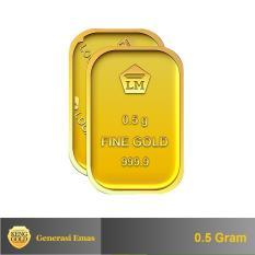 Gold - Emas 0.5 Gram - Logam Mulia 999.9 Sertifikat Antam -