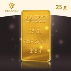 Gold Logam Mulia Emas UBS Untung Bersama Sejahtera 25 Gram