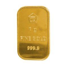 Gold Logam Mulia LM Sertifikat Asli Antam 1 Gram - Emas Batangan Logam Mulia - 24 Karat Sertifikat Resmi Antam