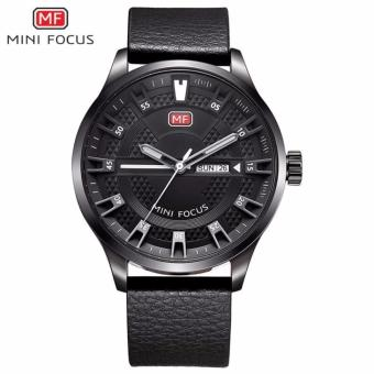 Great Premium Quality Men Watches MINI FOCUS Brand MF0028G Men Quartz Watch Sport Wrist Watch - Black