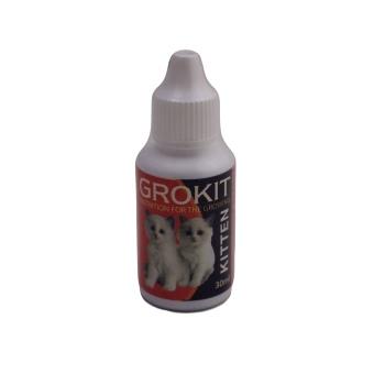 Grokit 30 ml Original - Suplemen Mempercepat Pertumbuhan Anak Kucing