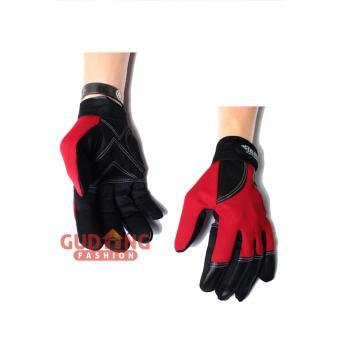 Gudang Fashion - Sarung Tangan Terbaru - Merah Hitam