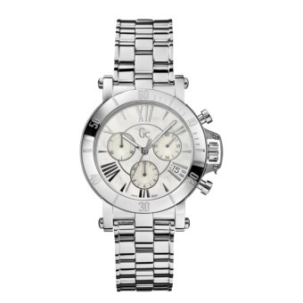 GUESS COLLECTION Gc FEMME X73001M1S - Chronograph - Jam Tangan Wanita - Stainless - Silver