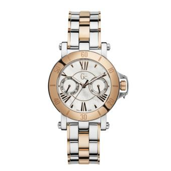 GUESS COLLECTION Gc FEMME X74002L1S - Jam Tangan Wanita - Stainless - Silver - Rose Gold