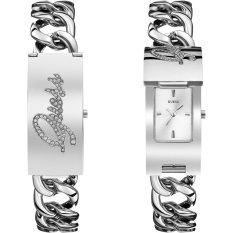 Guess W0321L1 Jam Tangan Wanita - Silver