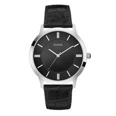 Guess W0664G1 - Jam Tangan Pria - Silver-Black
