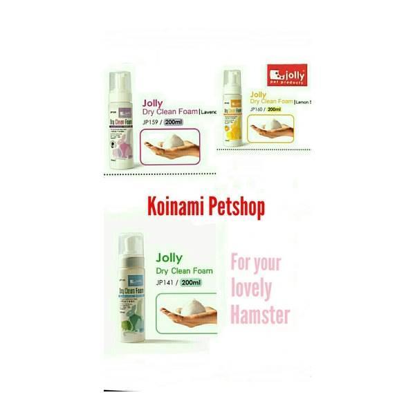 Hamster Dry Foam Clean / Mandi Hamster / Aksesoris Hamster /Kelinci