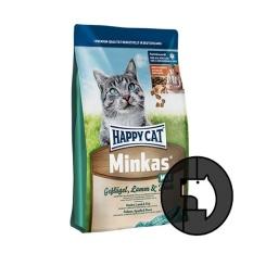 happy cat minkas 1.5 kg mix poultry lamb fish