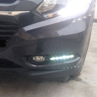 Detail Gambar Produk HDX DRL LED Honda HRV 2015 - Super Terang - Mengganti Cover Foglamp