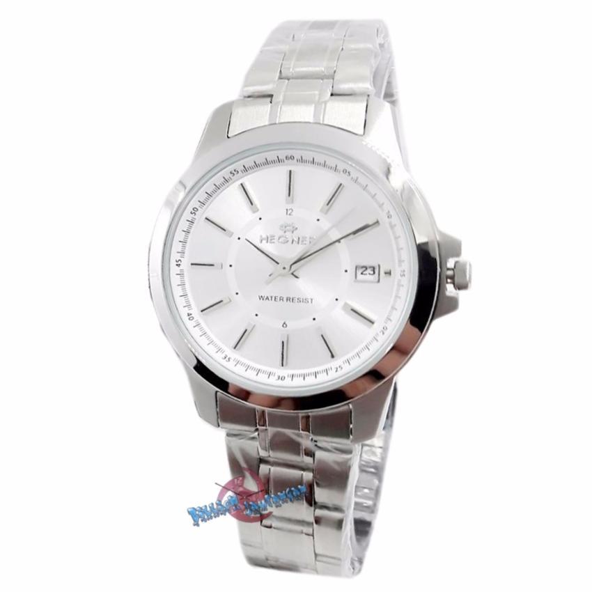 Hegner Bunga H629 Jam Tangan Wanita Stainless Steel Silver Hitam. Source · Hegner HG5003LSLVGP Chronograph