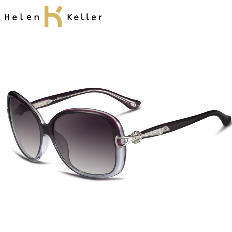 Harga Penawaran Helen Keller UV baru berlian wanita kacamata hitam ... 0636a94e6e