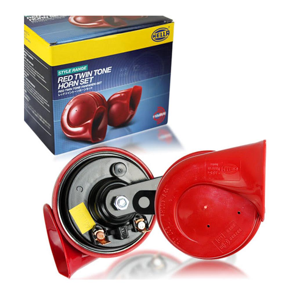 Hella Klakson Keong 12 V Twin Tone dengan Relay - Merah ...