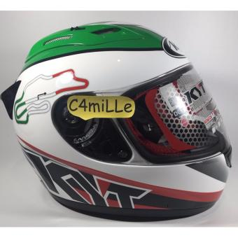 Helm Full Face KYT RC7 RC 7 RC seven italy white #15