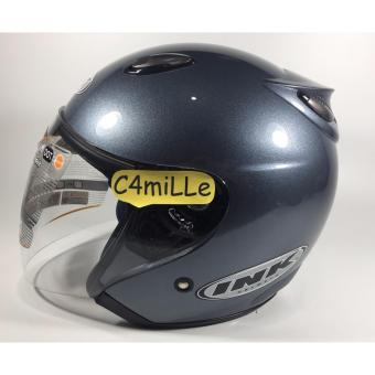 HELM INK CENTRO ORIGINAL 100 % GREY HALF FACE