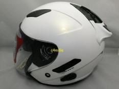 Helm KYT Galaxy Solid White / Putih
