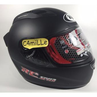 Helm KYT RC 7 / RC Seven Black Dop Full Face