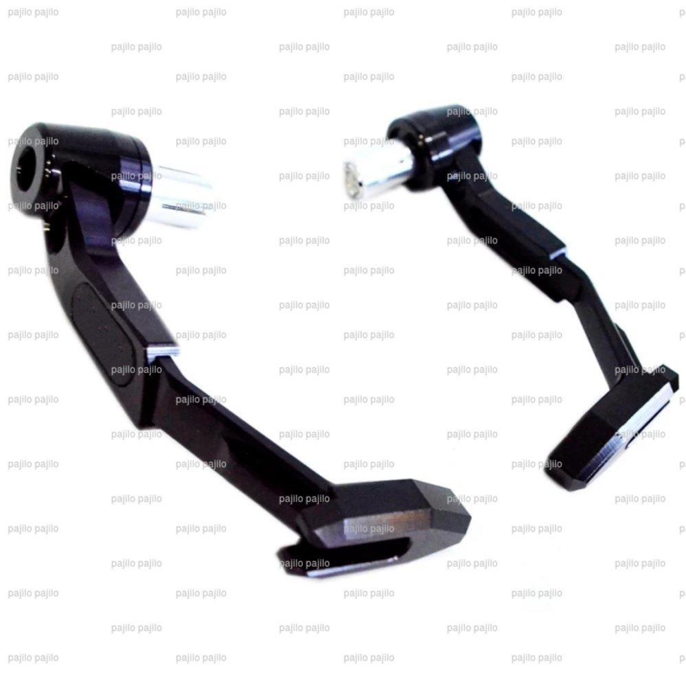 Hitam - Proguard Besi Handguard Motor Universal ( Vixion Cb Nmax Vario 150 Cbr Dll )